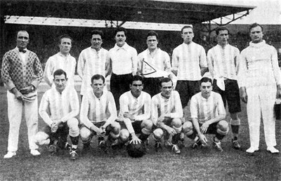 Argentina national team in 1928