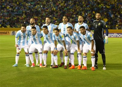 Argentina national team in 2017