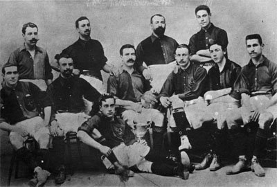 F.C. Barcelona team in 1903