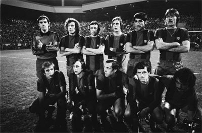 FC Barcelona team in 1978