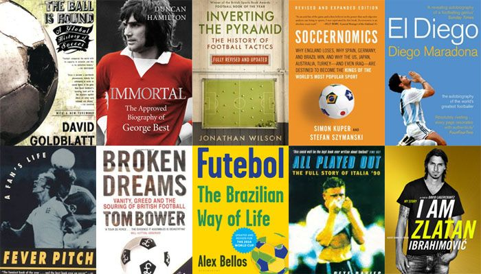 covers of football books