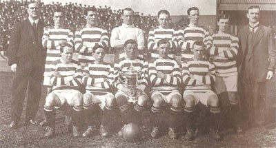 Celtic team in 1914