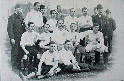 England national team in 1893