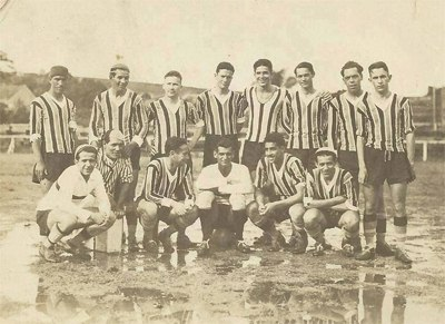 Grêmio line-up in 1932