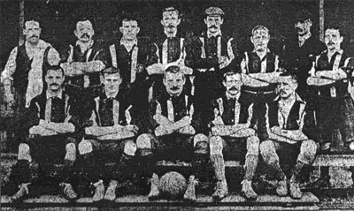 Luton Town team line-up 1898