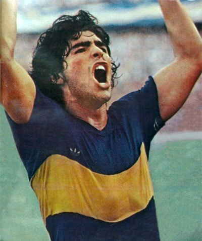 Maradona in Boca Juniors