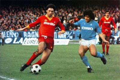 Maradona a Napoliban