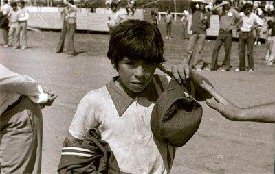 A fiatal Diego Maradona