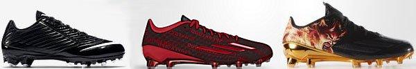 modern football shoes