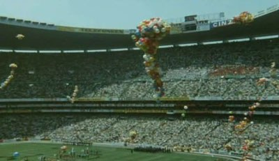 Opening ceremony with ballons