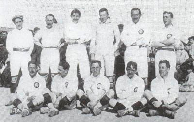 Madrid FC team photo