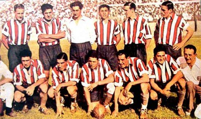 River Plate line-up color photo