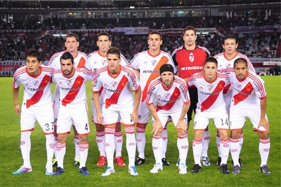 River Plate line-up in 2011