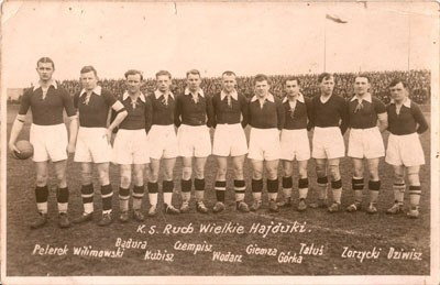 Ruch Chorzów SA team picture1936