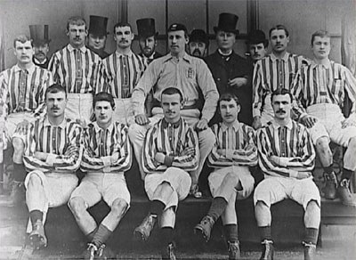 Old photo of West Bromwich Albion